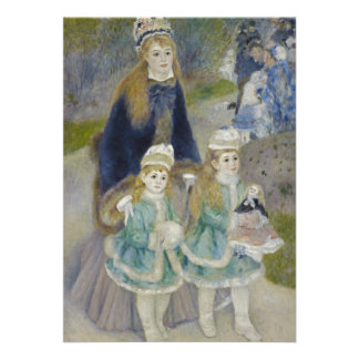 Passeio do La por Pierre-Auguste Renoir Convite Personalizado