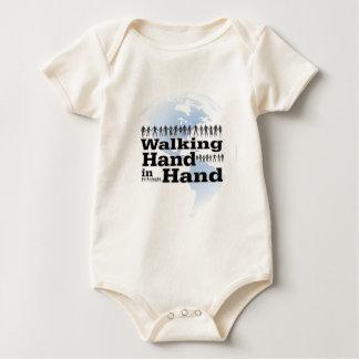 passeio em conjunto body para bebê