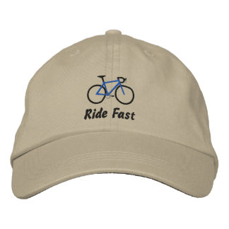 Passeio rápido - bicicleta da estrada boné bordado
