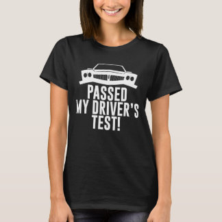 Passou a motoristas do teste do meu motorista o camiseta