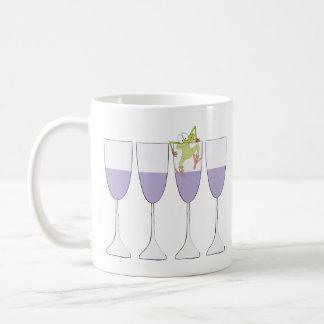 """Passover """"vinho e sapo"""" caneca de café de 11 onças"""