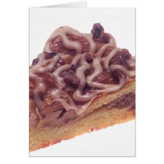 Pastelaria dinamarquesa da sobremesa cartão comemorativo
