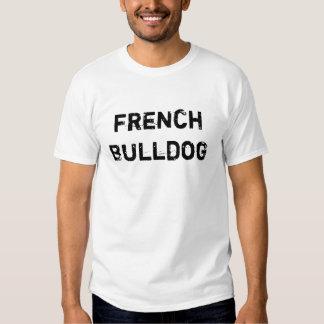 Pastor de depósito cavalheiros French Bulldog (sig Tshirts