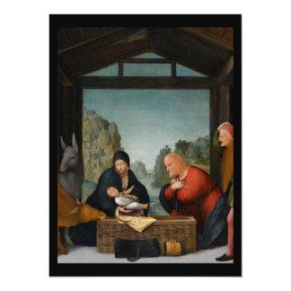 Pastores do der de De Aanbidding Convite 13.97 X 19.05cm