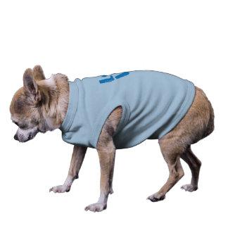 PATA do AMOR (letras azuis) - camiseta de cão