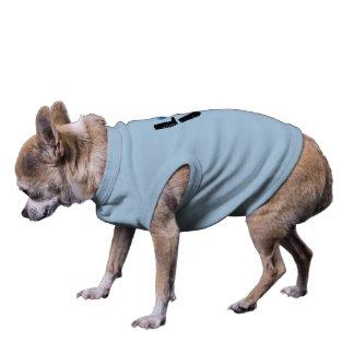 PATA do AMOR (letras pretas) - camiseta de cão