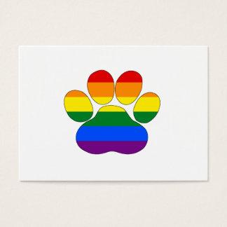 Pata do arco-íris cartão de visitas