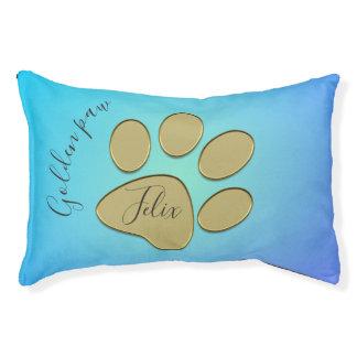 pata dourada - cama do animal de estimação