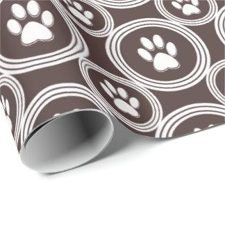 Pata-para-Dando o papel de embrulho (chocolate)
