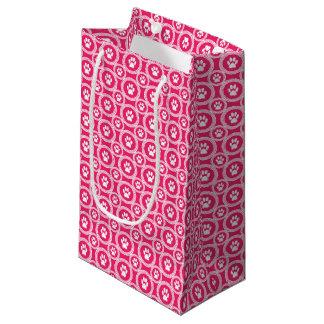 Pata-para-Dando o saco do presente (cereja) Sacola Para Presentes Pequena