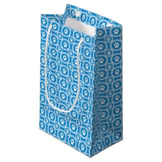 Pata-para-Dando o saco do presente (céu) Sacola Para Presentes Pequena