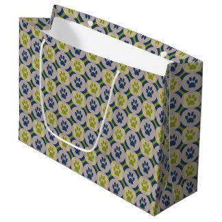Pata-para-Dando o saco do presente Sacola Para Presentes Grande