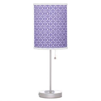 Pata-para-Décor a lâmpada (violeta)