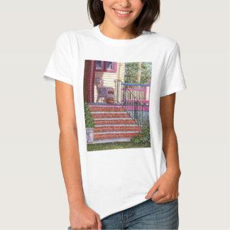 Patamar com cesta camiseta