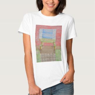 patamar da janela camisetas