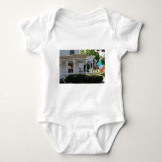 Patamar dianteiro da rua body para bebê