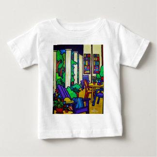 Patamar do verão por Piliero Camiseta Para Bebê