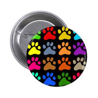 Patas coloridas pins