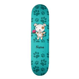 Patas conhecidas personalizadas de turquesa do cup shape de skate 20,6cm