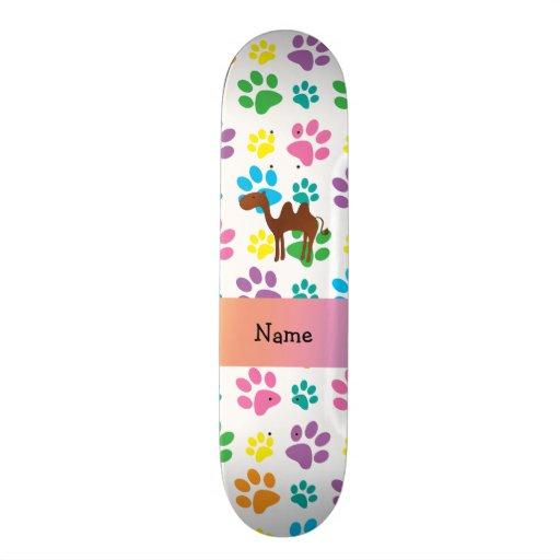 Patas conhecidas personalizadas do arco-íris do ca skates personalizados