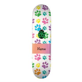 Patas conhecidas personalizadas do arco-íris do jo shape de skate 18,7cm