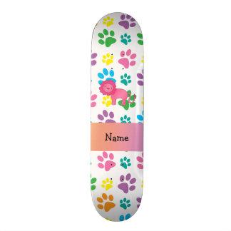 Patas conhecidas personalizadas do arco-íris do le shape de skate 21,6cm