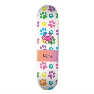Patas cor-de-rosa conhecidas personalizadas do arc shape de skate 20cm