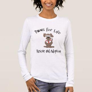 Patas para a camisa Longo-sleeved vida