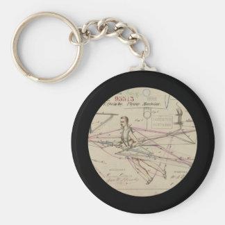 Patente do planador da máquina de vôo chaveiro