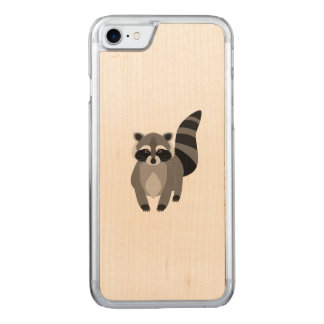 Patife do guaxinim capa iPhone 7 carved