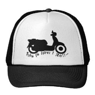 Patinete ou E-Bicicleta - isto é como eu rolo! Boné