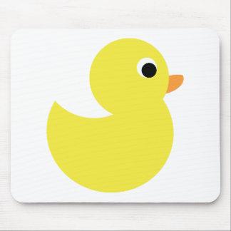 Pato de borracha amarelo