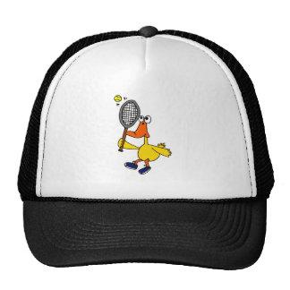 Pato DG engraçado que joga o tênis Boné