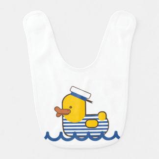 Pato do marinheiro babadores