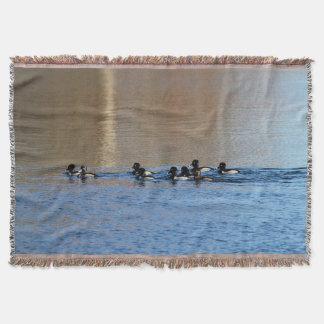 patos Anel-necked Throw Blanket