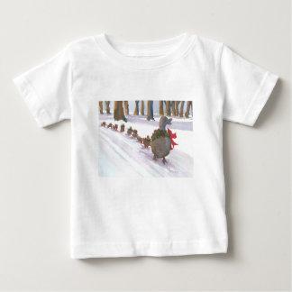 patos em Boston comum durante os feriados de Camiseta Para Bebê