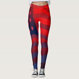 Patriota americano leggings