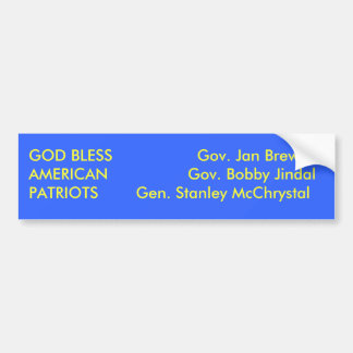 Patriotas do americano dos deus abençoe adesivo para carro
