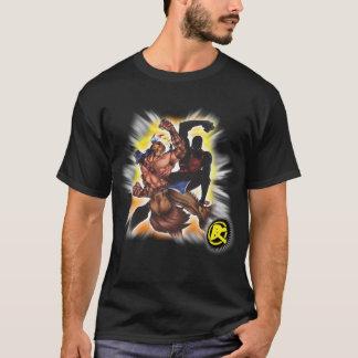 Patriotas ex: Cavalo de ferro contra a camisa Camiseta