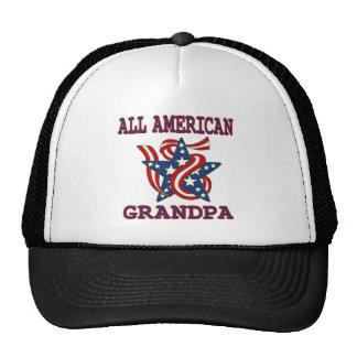 Patriótico todo o vovô americano boné