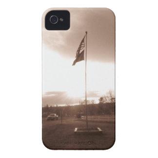 Patriotismo antiquado capa para iPhone 4 Case-Mate