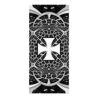 Pattée transversal 10.16 x 22.86cm panfleto