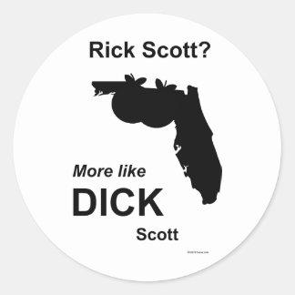 Pau Scott de Scott do rick Adesivos