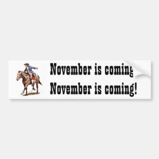 paul%20revere, novembro está vindo! Novembro é c… Adesivo Para Carro