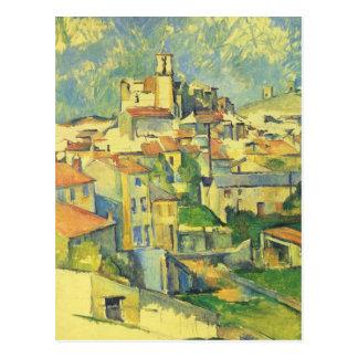Paul Cezanne - Gardanne Cartão Postal