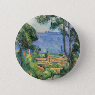 Paul Cezanne - ideia do d'If de L'Estaque e de Bóton Redondo 5.08cm