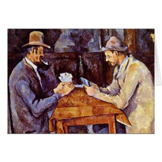 Paul Cezanne - jogadores de cartão