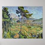 Paul Cezanne - paisagem com viaduto Poster