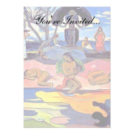 Paul Gauguin - dia dos deuses Convites