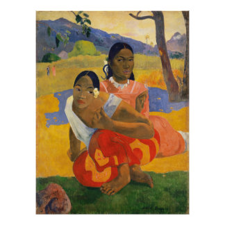PAUL GAUGUIN - ipoipo 1892 do faa de Nafea Pôster